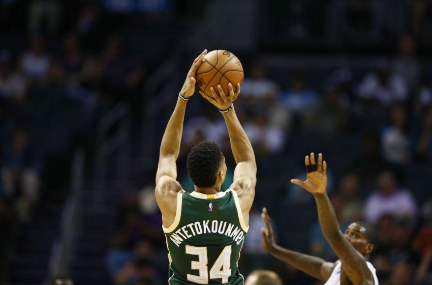 58650169e5ff Milwaukee Bucks  Taking a closer look at Giannis Antetokounmpo s  three-point shooting