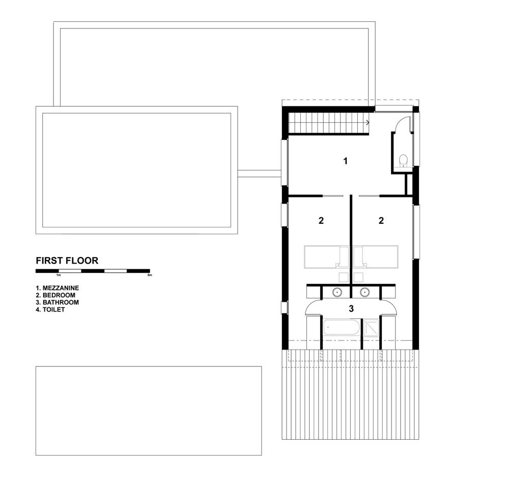 Detailed Modern House In France Drawing Step By Step