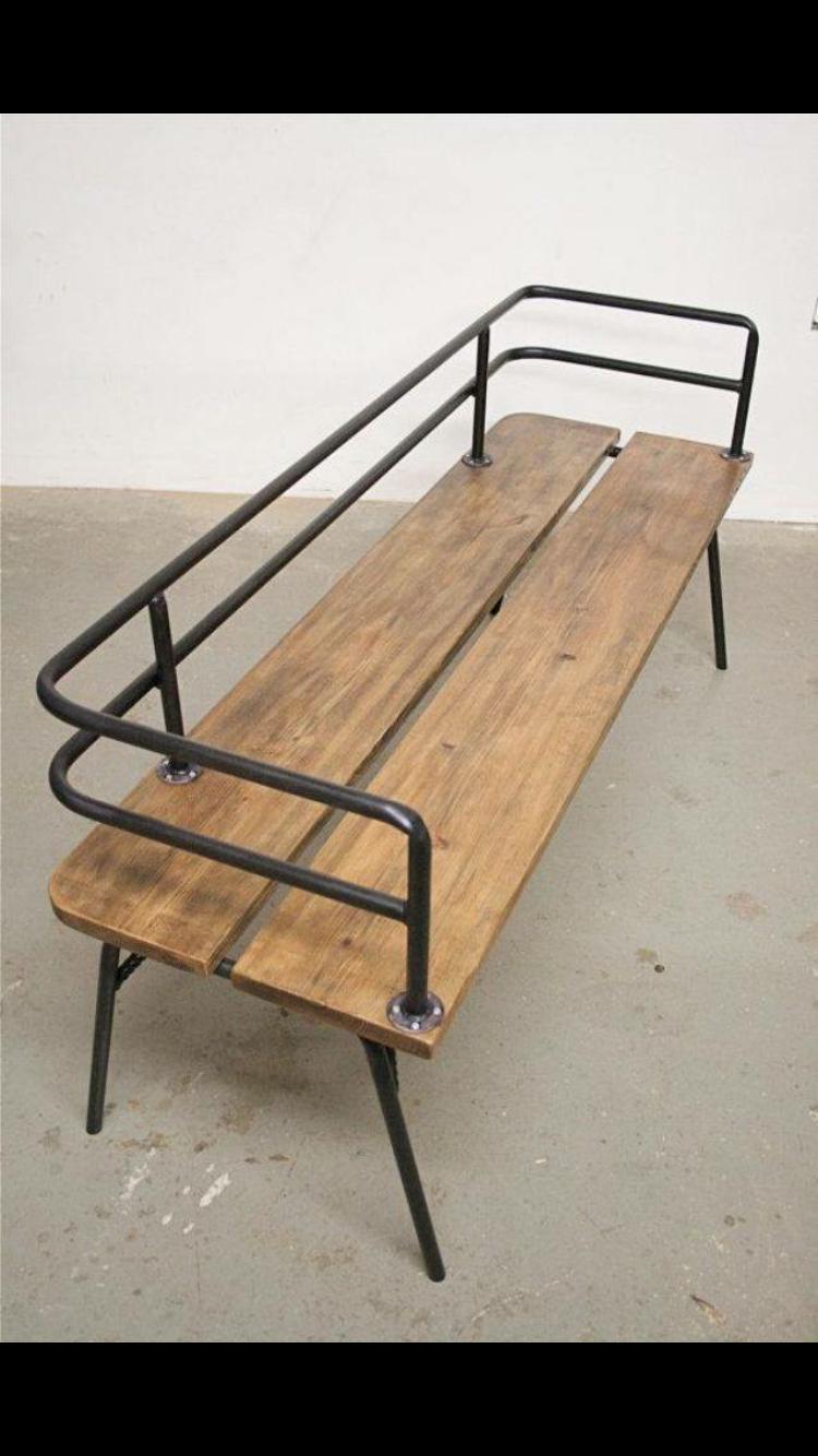 pin von elynna nevarez auf espacios pinterest m bel b nke und holz. Black Bedroom Furniture Sets. Home Design Ideas