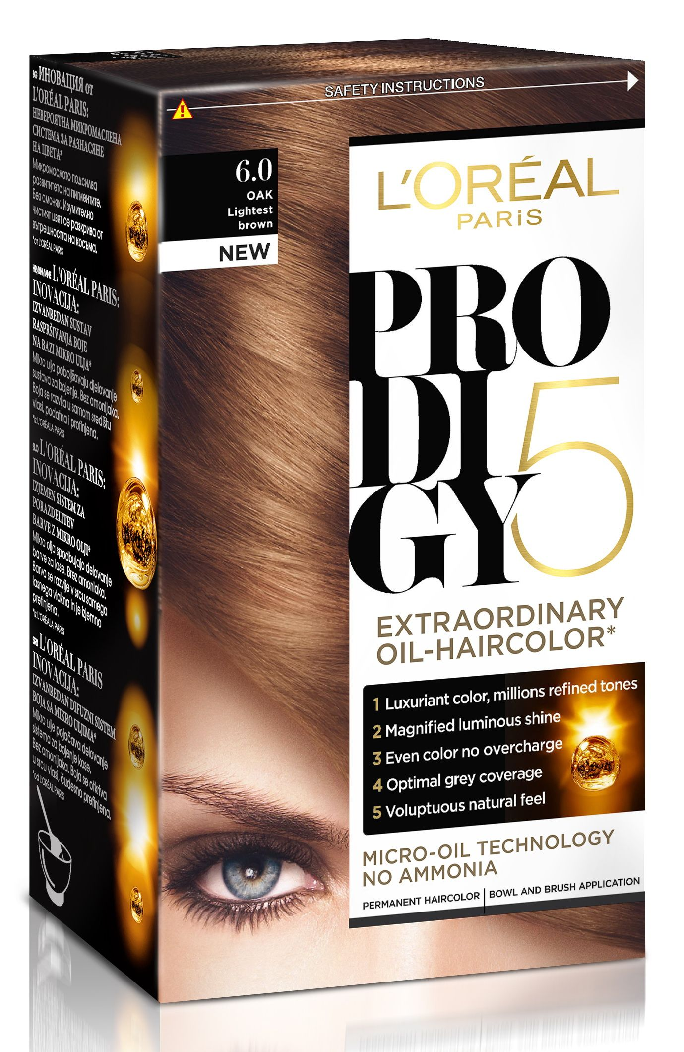 Loreal hair color quiz - L Oreal Prodigy 6 0 Oak Looks So Natural On