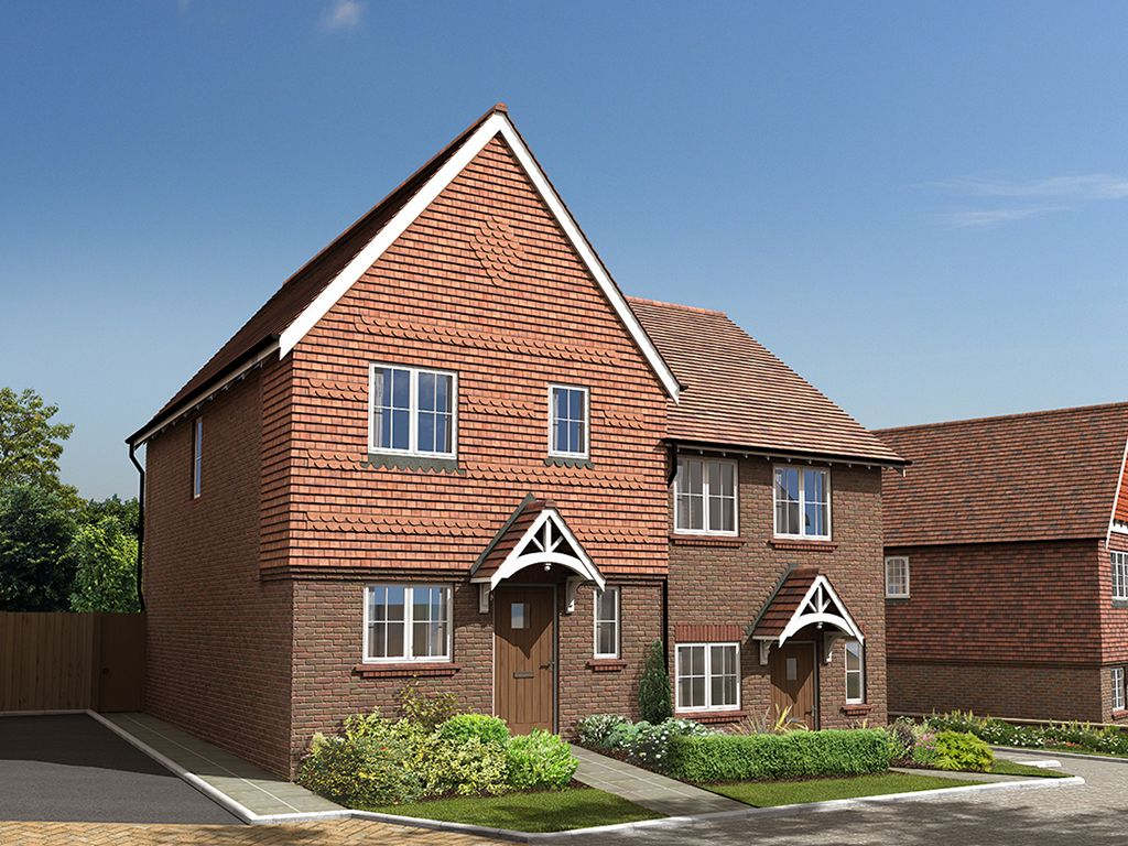 From the colour of the bricks, to the size of the windows, an attention to detail that is typical of Thakeham, the housebuilder, as they ensure their new homes have a strong sense of place in the local area.