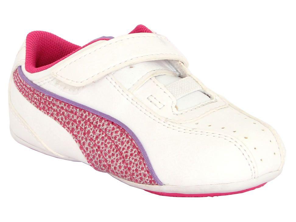 Tenis casuales para niña Puma 35301311 blanco Código de