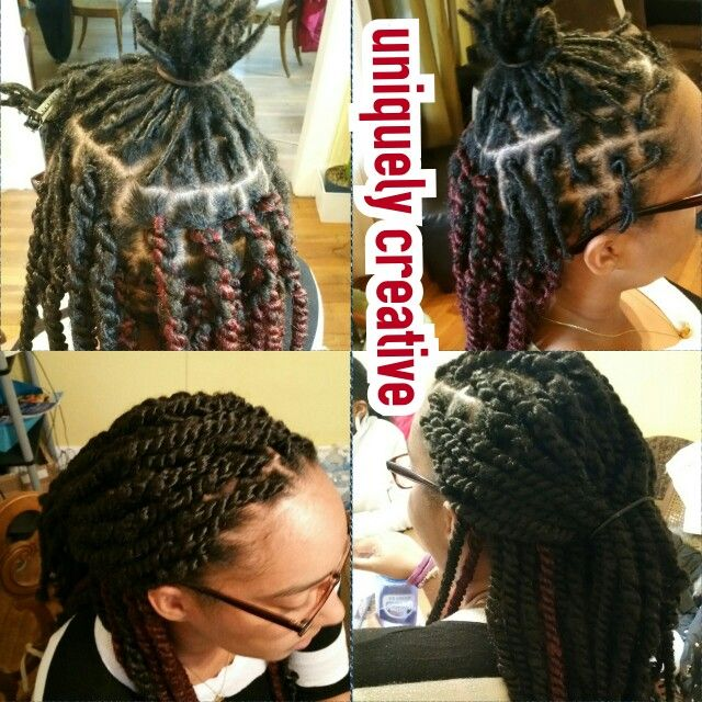 Marley Twists Over Starter Locs Protective Styling Locs