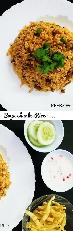 Soya chunks rice soya pulao recipe soya chunks pulao reebz world soya chunks rice soya pulao recipe soya chunks pulao reebz world tags soya chunks recipe malayalam how to make soya chunks pulav soya chunk ccuart Image collections