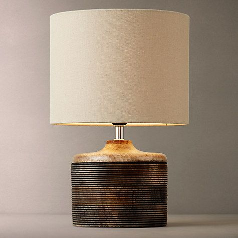 Buy john lewis ira ribbed wooden table lamp online at johnlewis buy john lewis ira ribbed wooden table lamp white wash from our desk table lamps range at john lewis mozeypictures Gallery