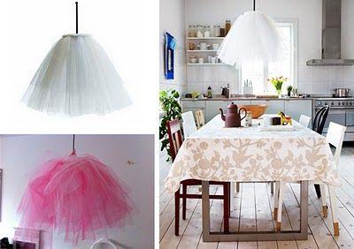 Liv, the tutu lamp