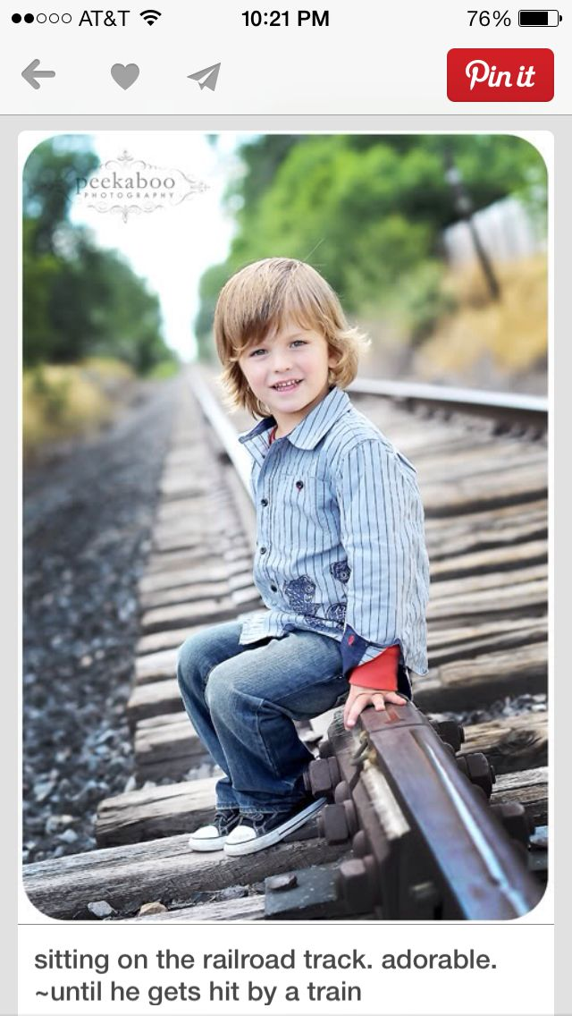 Family Portraits Train Tracks Train Tracks Photography Children