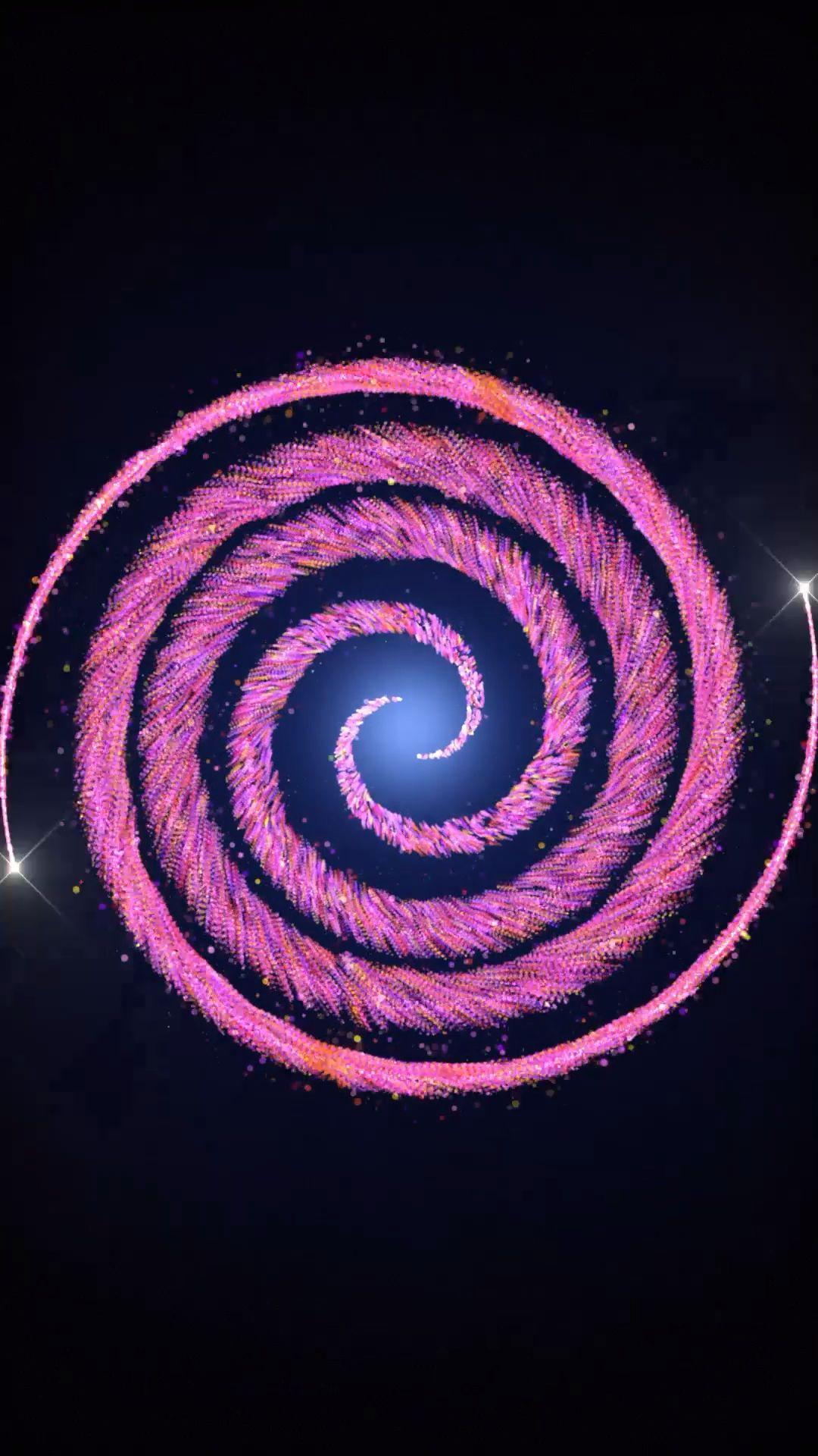 Hypnotic live wallpaper