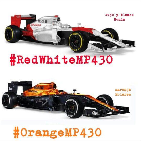MP4-30 red - white OR orange