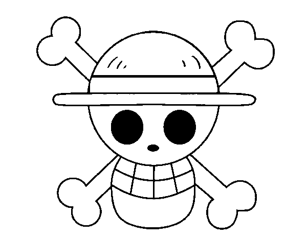 Luffy S Jolly Roger Anime Mangas Dessin Manga Monkey D Luffy