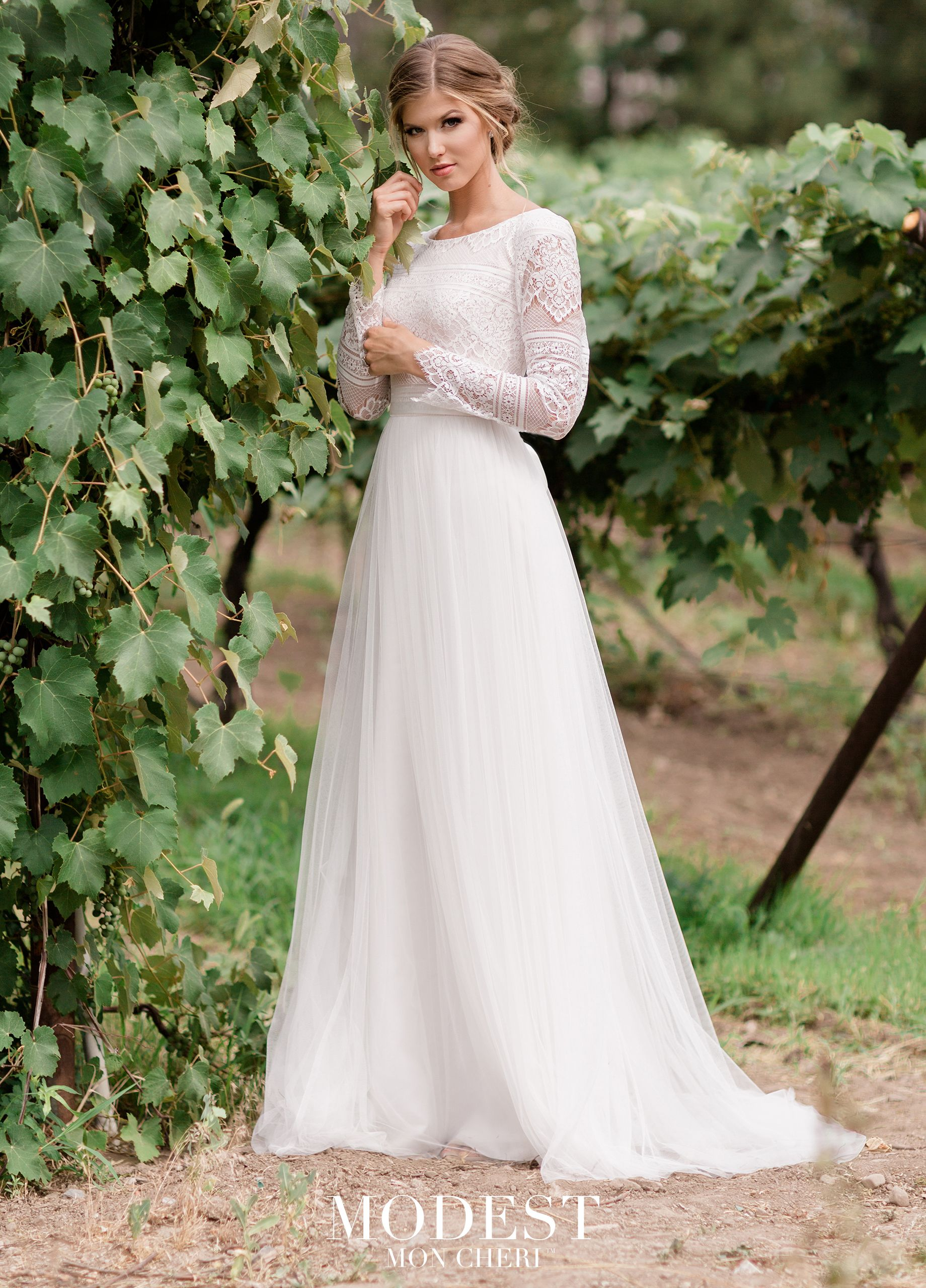 Modest Wedding Dress.Tr11976 In 2019 Wedding Dresses Lace Weddings Modest