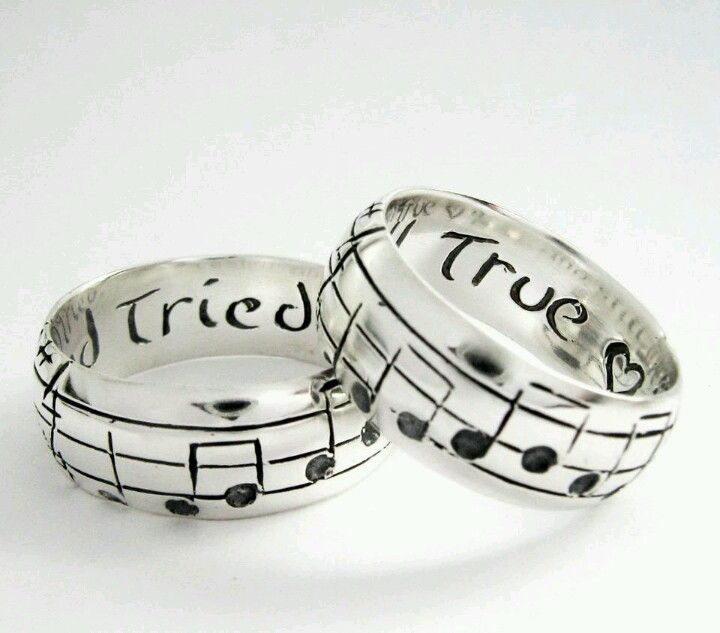 Musical Wedding Rings