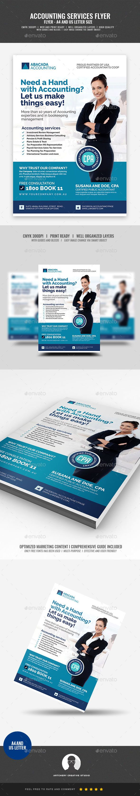 Accounting Firm Flyer Print Templates Flyers Corporate For Better