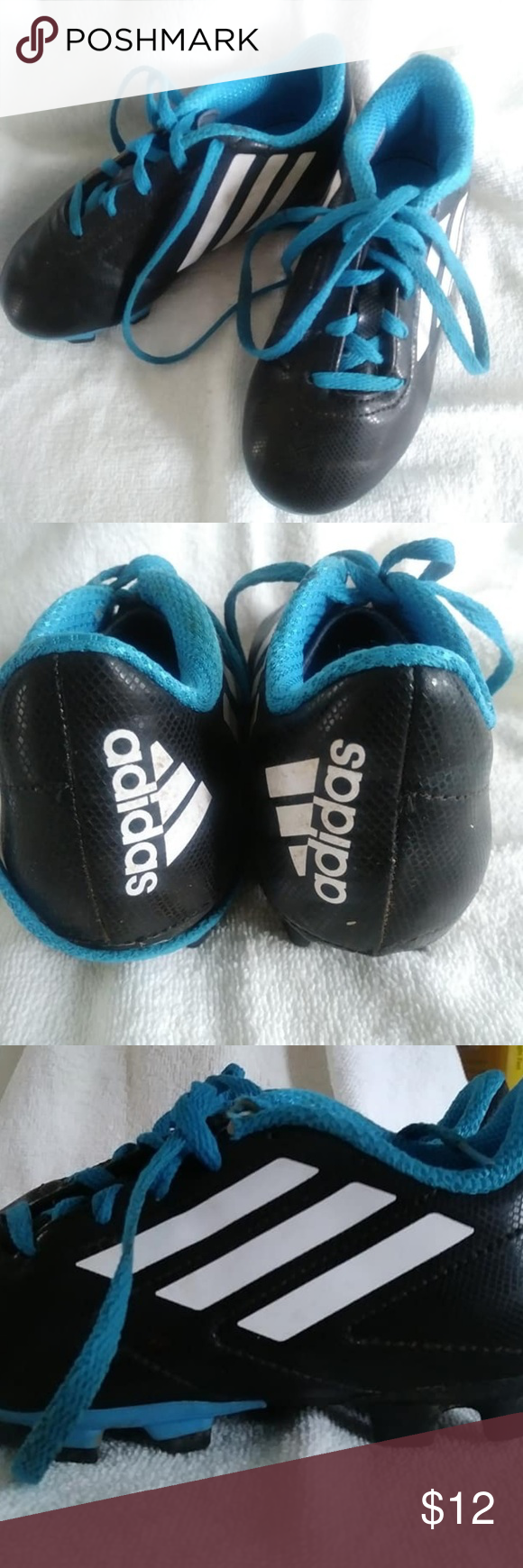 Kids Adidas Youth Soccer Cleets Size US 12 Kids Adidas ...
