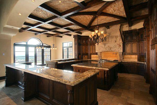 Spanish Colonial Kitchen  www.fratantoniluxuryestates.com
