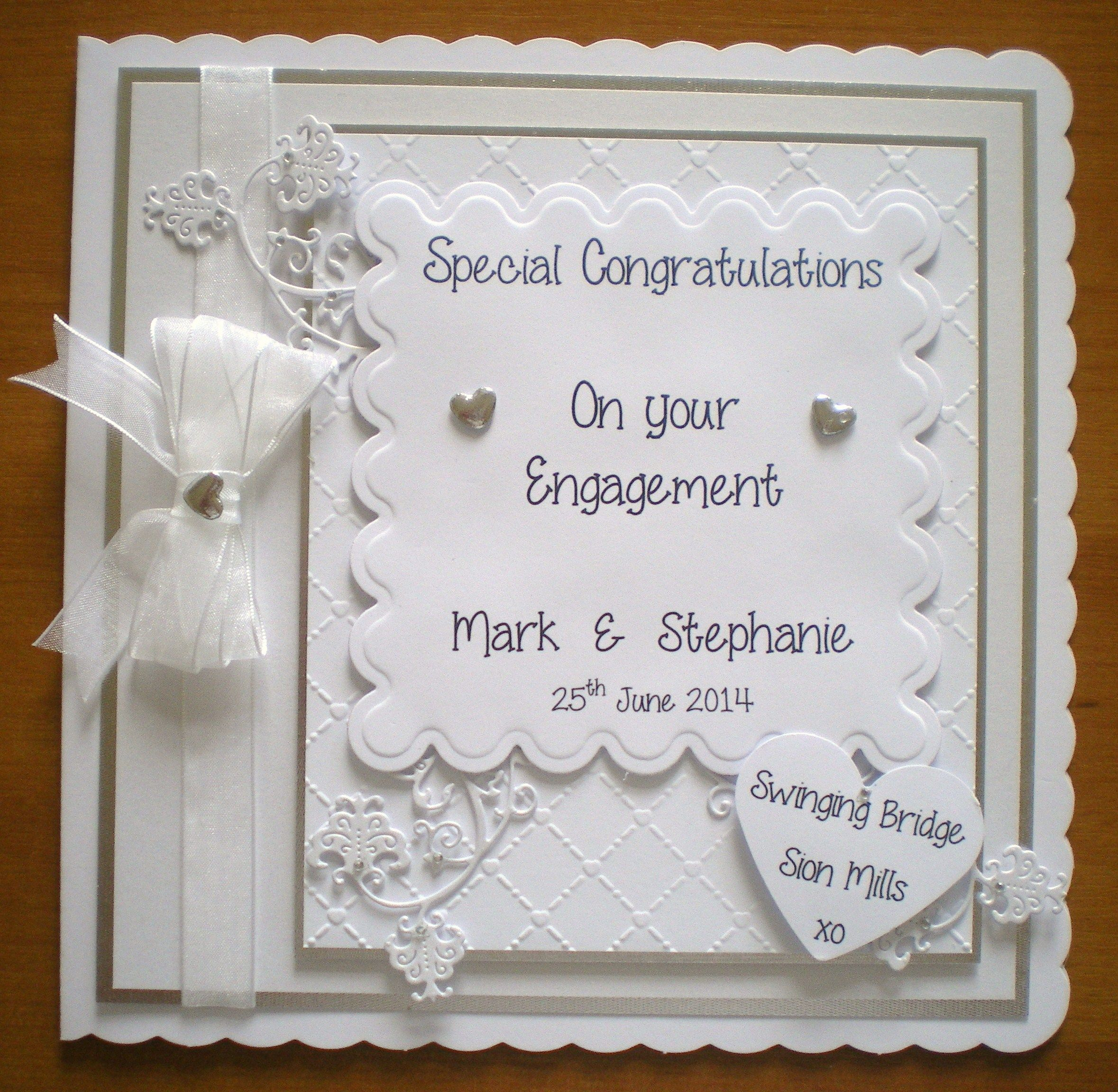 Engagement Card   Engagement cards, Wedding cards, Anniversary cards