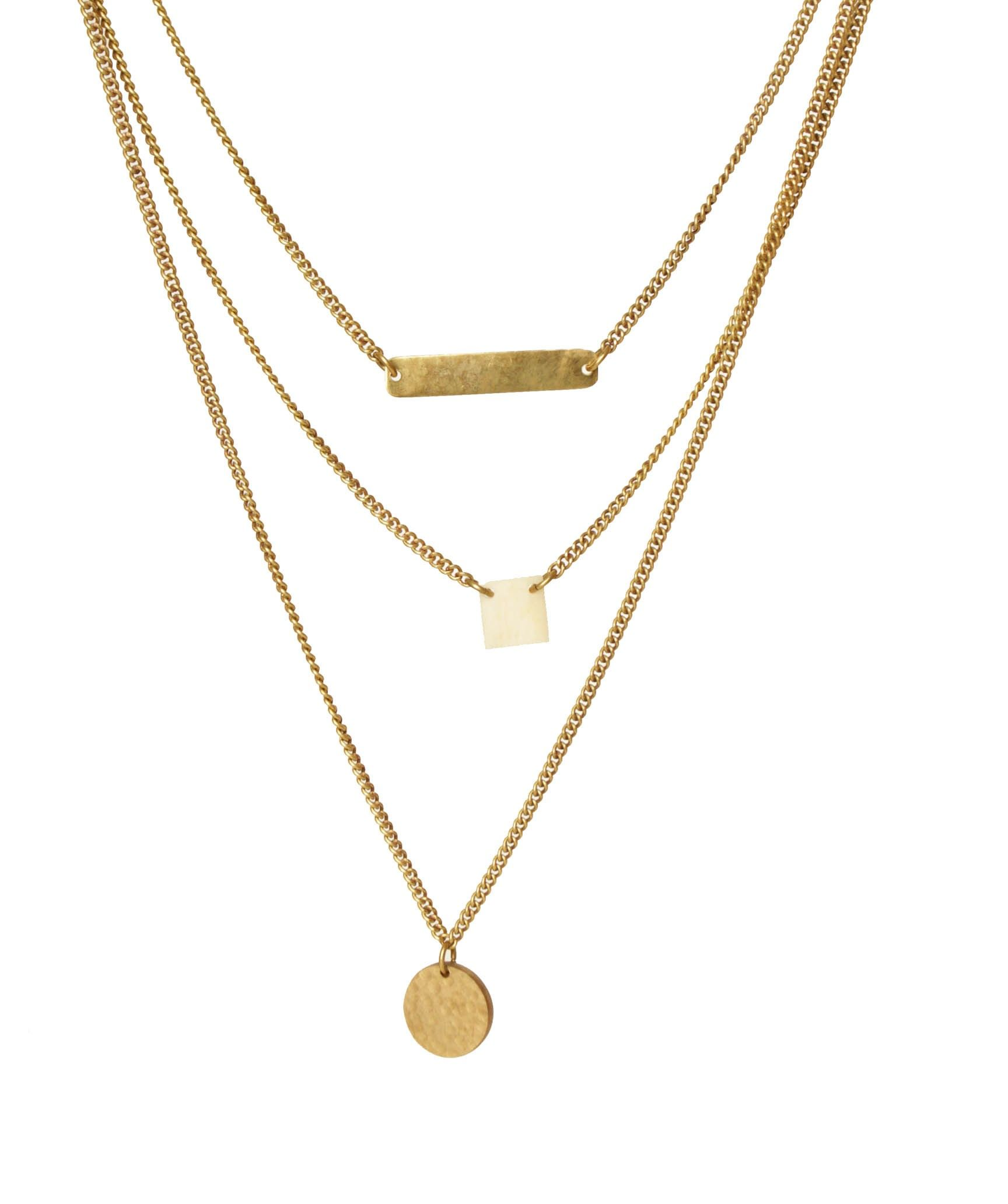 Dainty Trio Necklace - New In Made UK