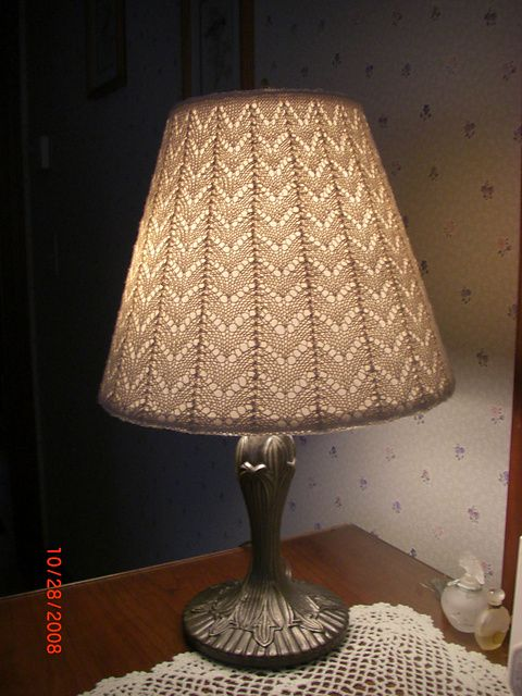 Light And Lacy Pattern By Nazanin S Fard Crochet Lamp