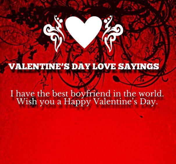 Schön Valentines Day Love Quotes Images For Boyfriend Images