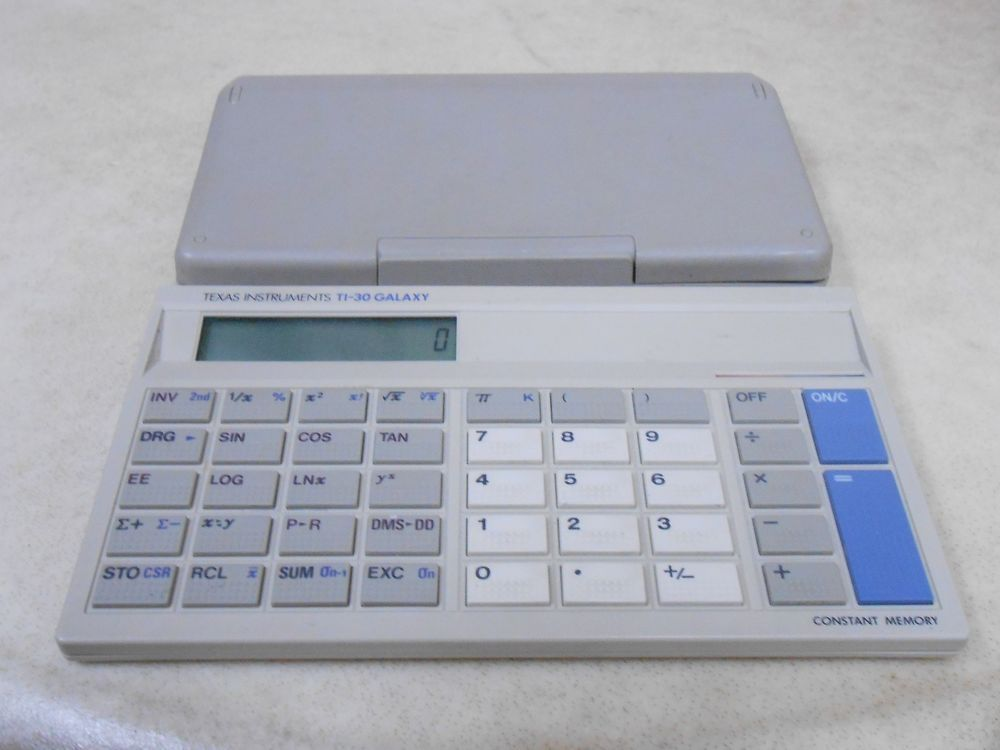 Texas Instruments Ti 30 Galaxy Made In