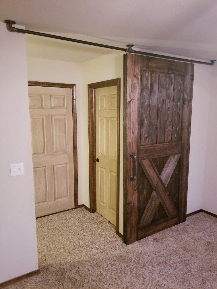 Double Barn Door Hardware Metal Sliding Barn Doors Jeld Wen Interior Doors 20191016 Diy Barn Door Hardware Door Hardware Diy Barn Doors Sliding