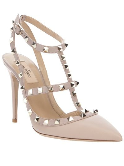 Valentino Multistrap Pointed-Toe Pumps wiki cheap price 3Zb6N
