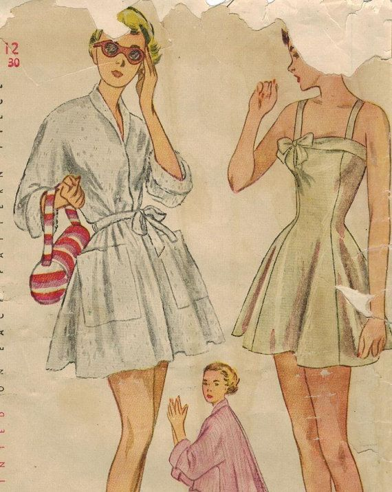 Pin by Sonja Vivier on Vintage Sewing Patterns | Pinterest | Vintage ...