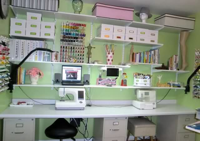 Sewing Room Designs And Layouts | Message Boards    Part 19