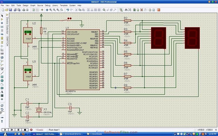 Proteus Professional 8 6 Free Download Simulation Software In 2020 Printed Circuit Boards Circuit Projects Electronic Engineering