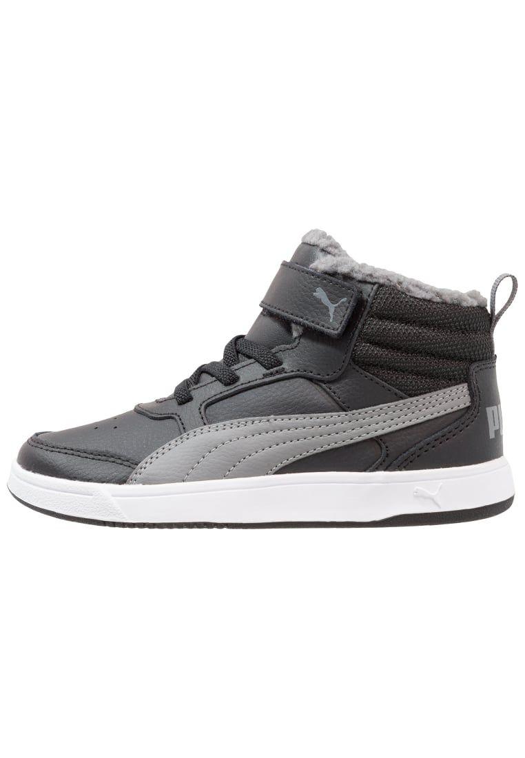 Puma REBOUND STREET V2 - Zapatillas altas black/white FFpsp