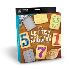 Letterpress Numbers | Paper Products Online