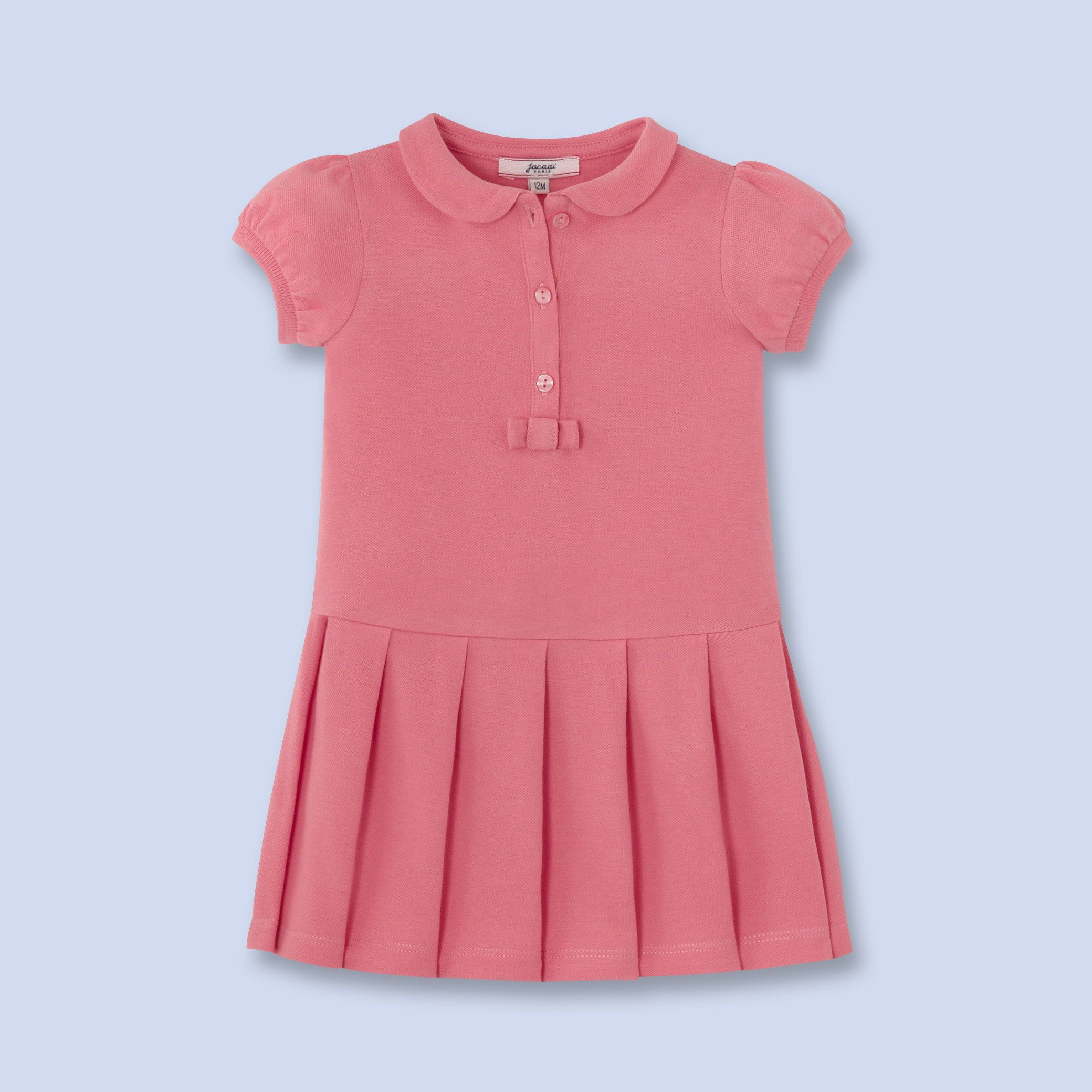 Cotton polo dress for baby girl Kids Pinterest