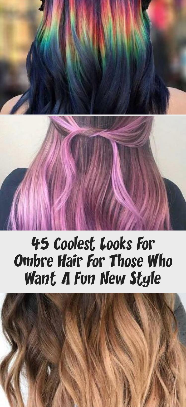 45 Coolste Looks für OmbreHaare für diejenigen, die einen
