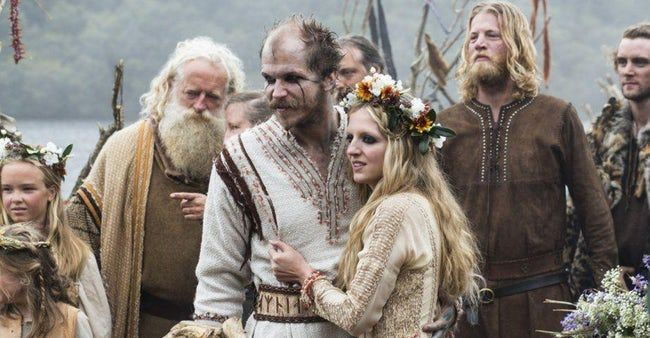 12 Highly Symbolic And Kind Of Outlandish Viking Wedding Traditions Rituals