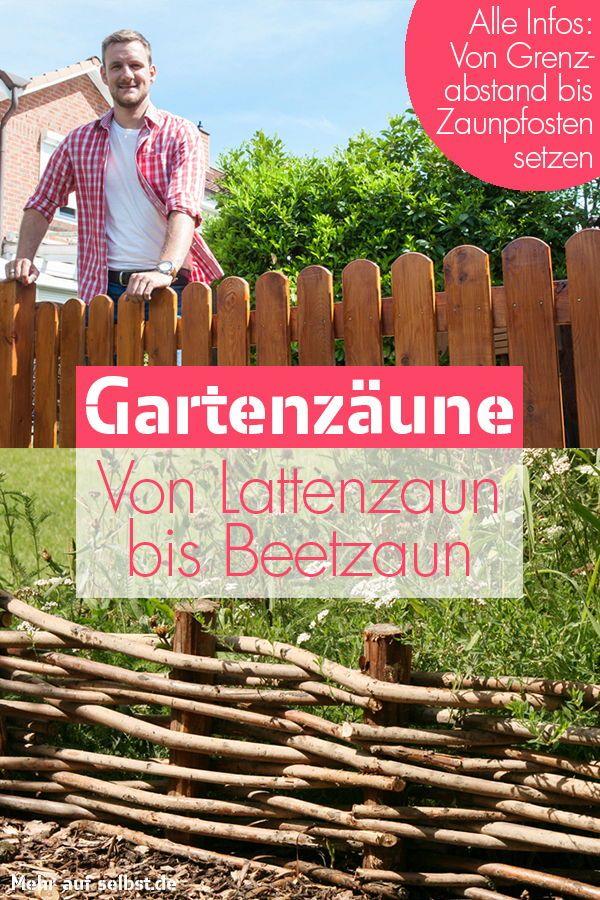 Gartenzaun | selbst.de #zaunideen