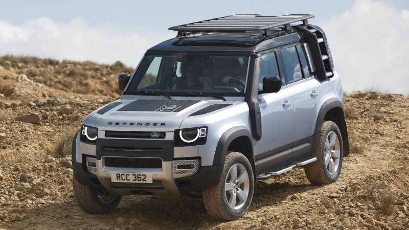 2020 Land Rover Defender is a tiny retro Range Rover