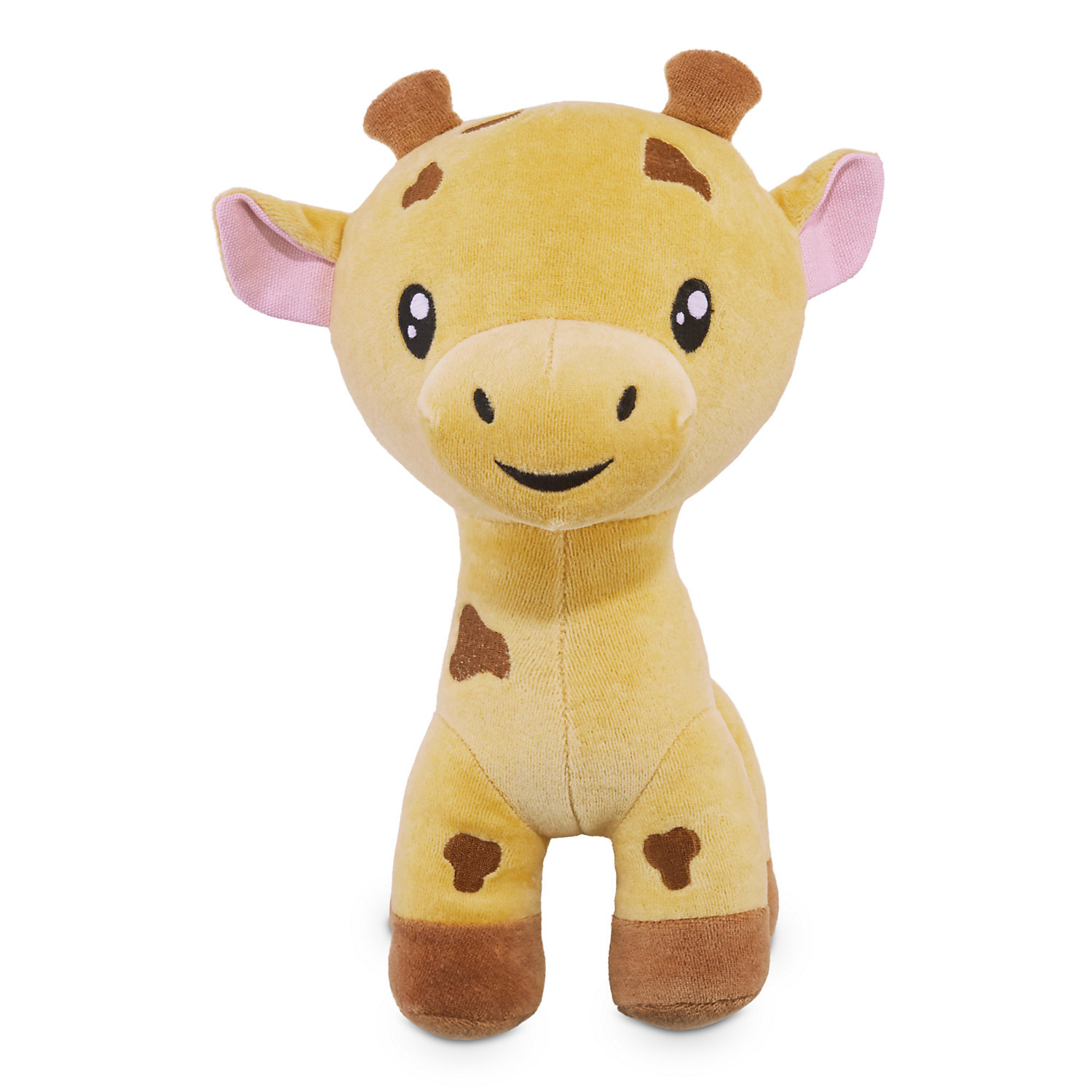 Leaps Bounds Playful By Nature Cotton Giraffe Plush Dog Toy