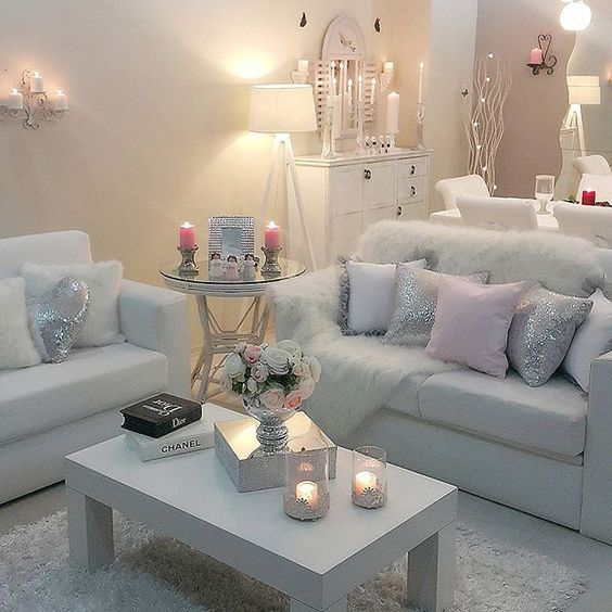 ᒪoᑌiᔕe Chic Living Room Decor Small Apartment