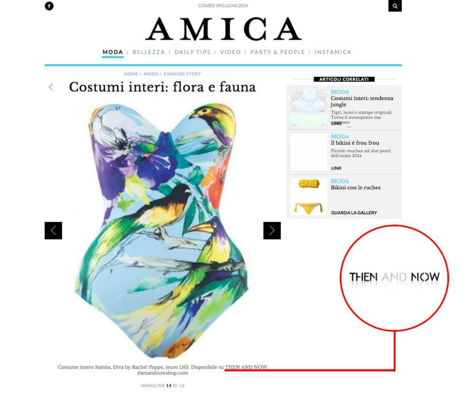 #amica, #swimmwear  available here : http://www.thenandnowshop.com/women/samba-swimsuit/pd31098905.html