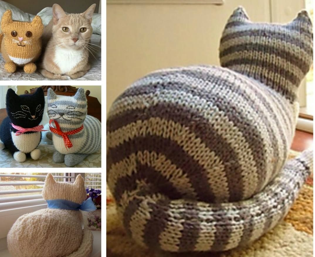 Knitted Cats Patterns You Will Love To Whip Up - Lots Of Free ...
