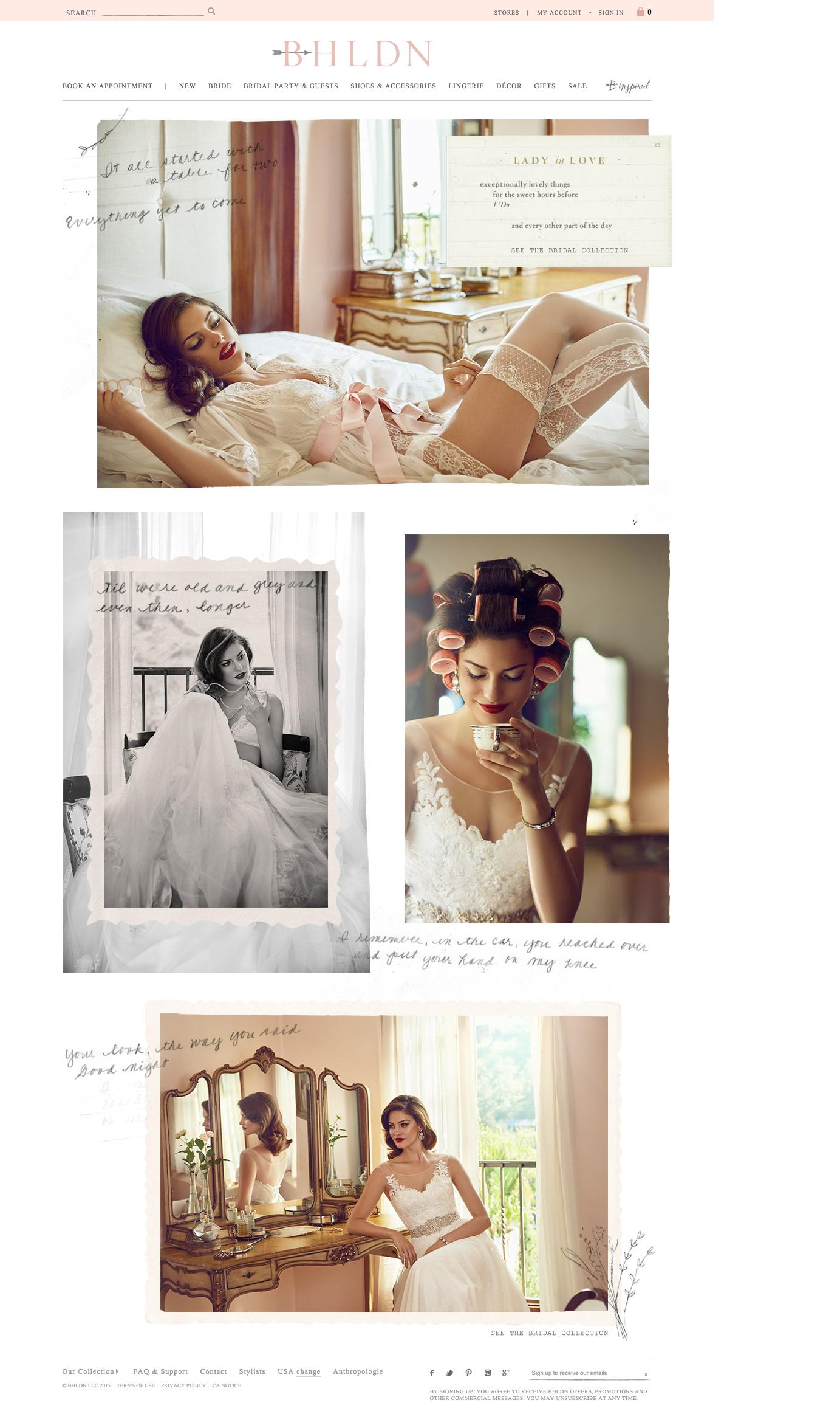 wedding / BHLDN