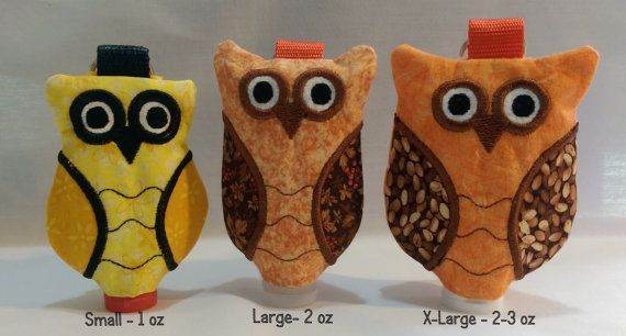 Owl Hand Sanitizer Clip On Holder By Pfantasyoriginals On Etsy