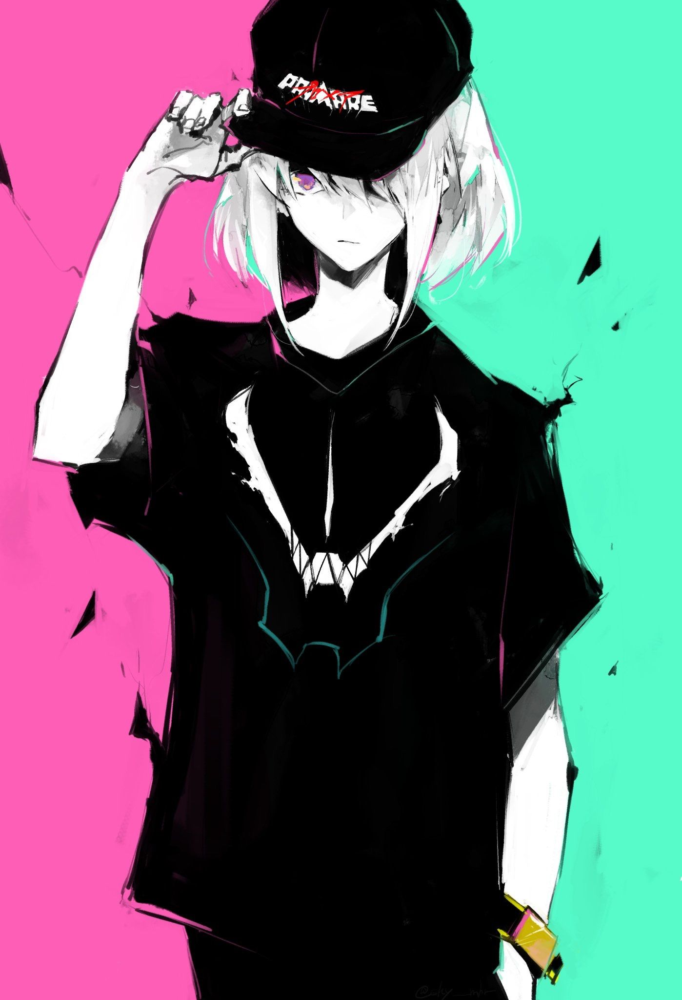 Pin by Ash Miller on Promare Anime boy, Anime crossover, Art