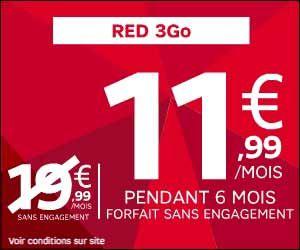 Reddeal De Sfr Le Forfait Ilimite 24h 24 Red 3go A 11 90 Euros