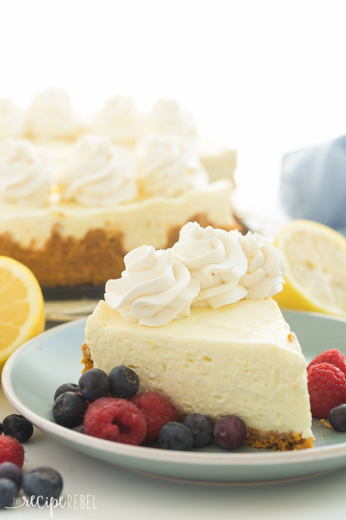Video A Smooth Extra Creamy No Bake Lemon Cheesecake Recipe Made With Lemon Juice And Lemon Cheesecake Recipes Cheesecake Recipes Lemon And Lime Cheesecake
