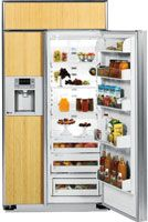 GE Profile 48 Built-In Side-By-Side Refrigerator  Review Buy Now