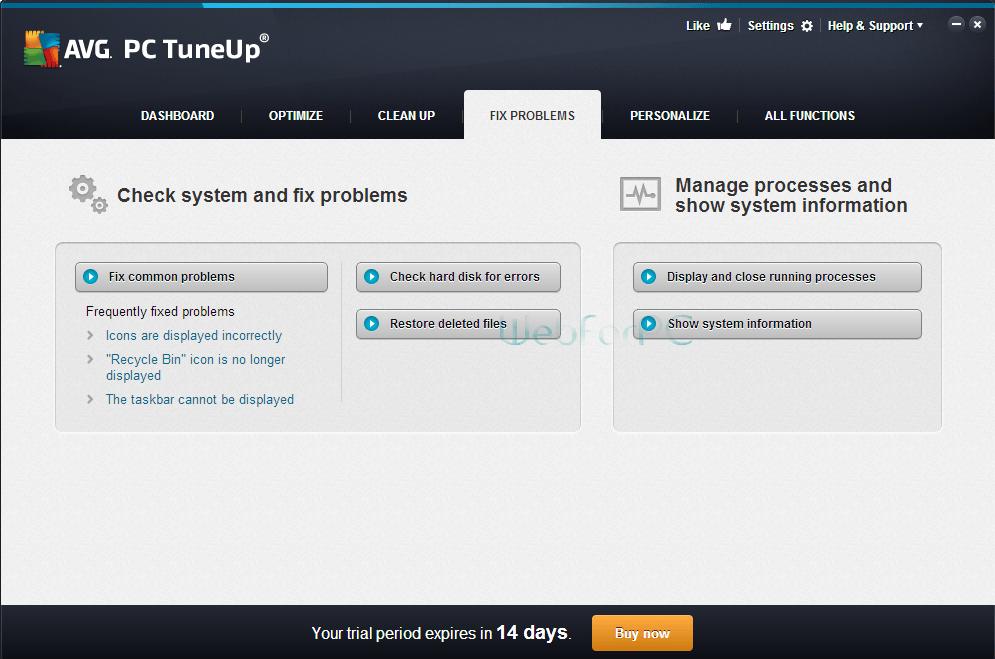 avg pc tuneup 2018 serial key + crack download