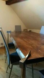 Esstisch Massivholz Fichte Walnuss Gebeizt In Thuringen Lederhose Esstisch Gebraucht Kaufen Esstisch Massivholz Esstisch Gebraucht Esstisch