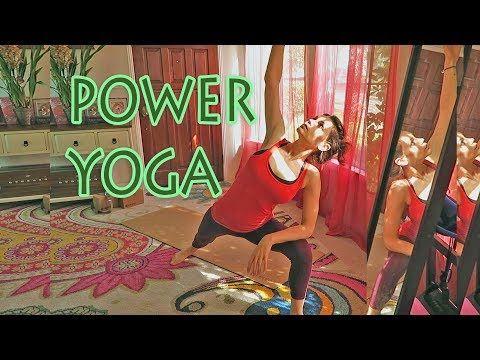 Beginner Power Yoga. 30 Minutes. YouTube | Power yoga ...