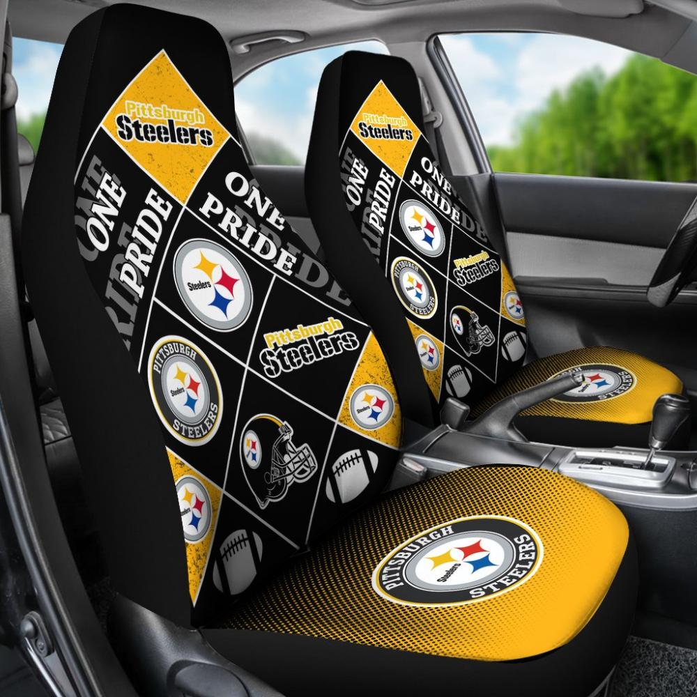 Pride Flag Pittsburgh Steelers Car Seat Covers Best Funny Store Pittsburgh Steelers Pittsburgh Steelers Clothes Pittsburgh Steelers Funny [ 1000 x 1000 Pixel ]